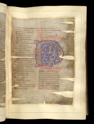 Decorated Initial, In 'The Winchcombe Chronicle' f.47r